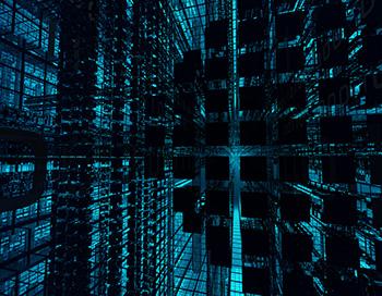 VPS Server, een conceptuele weergave van data