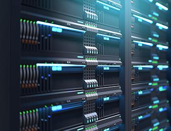 Close up van een paar servers bij elkaar.